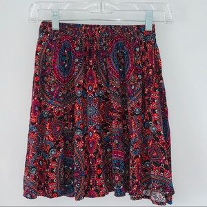Abercrombie Sz Small Floral Print Mini skirt